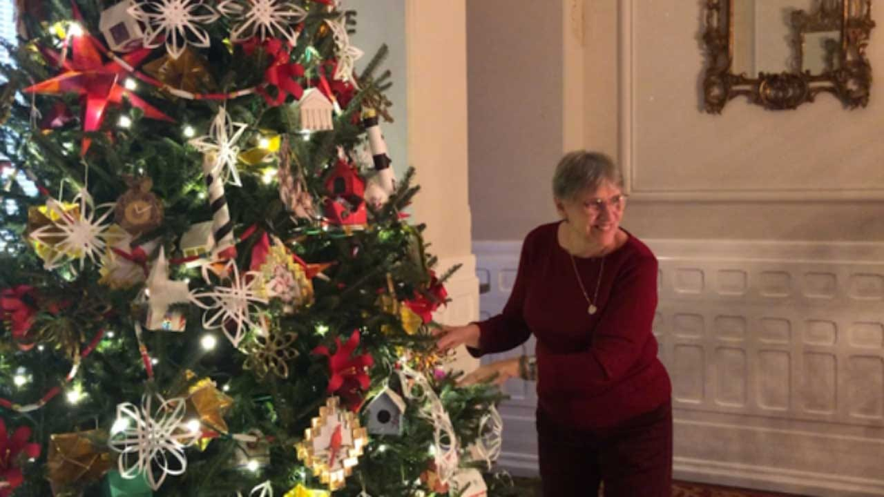 Ornaments Handmade By Incarcerated Men In NC Prison Adorn Governor's Christmas Tree