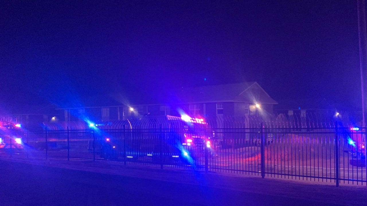 Firefighters Respond To Apartment Fire In NE OKC