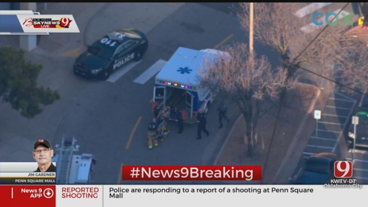 OCPD: 1 Critically Injured In Shooting At Penn Square Mall; Police Looking For Suspect