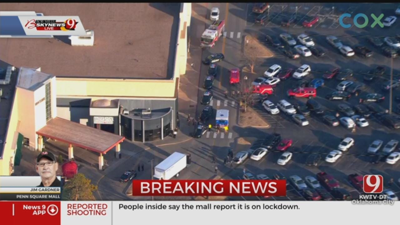 WATCH: Live News 9 Coverage Of Penn Square Mall Shooting