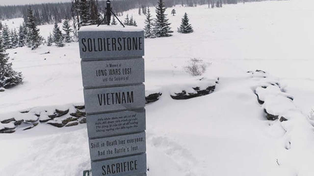 Visiting Soldierstone, A Hidden Memorial In Colorado Honoring Forgotten War Veterans
