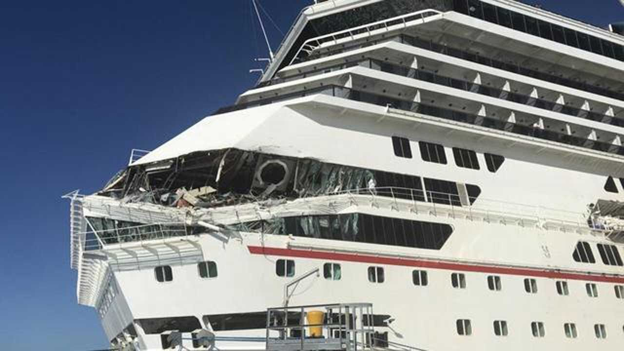 Carnival Cruise Ships Collide In Mexico, Injuring 6