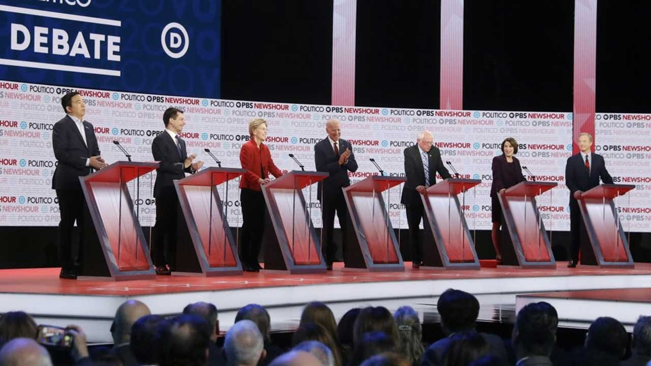 Key Takeaways From Democratic Presidential Debate In LA