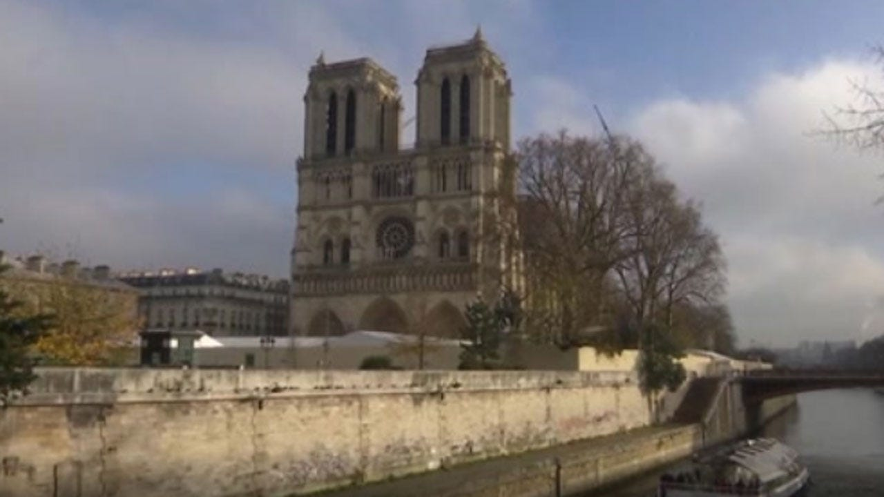 Christmas Mass Will Not Be Held At Notre Dame For 1st Time Since 1803