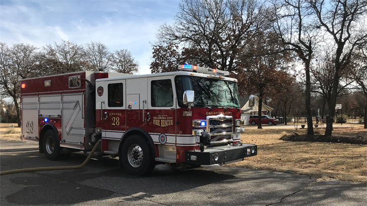 Grass Fire Damages 5 Acres In SE Oklahoma City