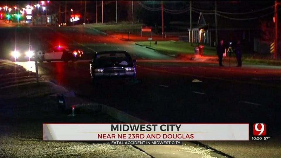 Midwest City Police Investigating Fatality Accident