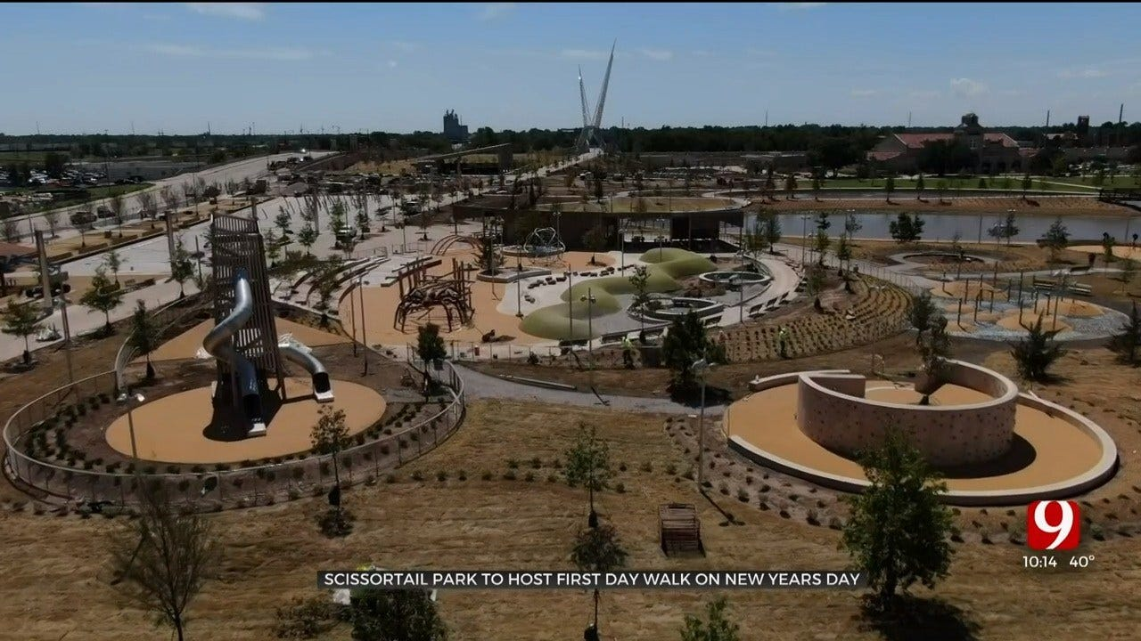Scissortail Park To Host 'First Day Walk' On New Year's Day