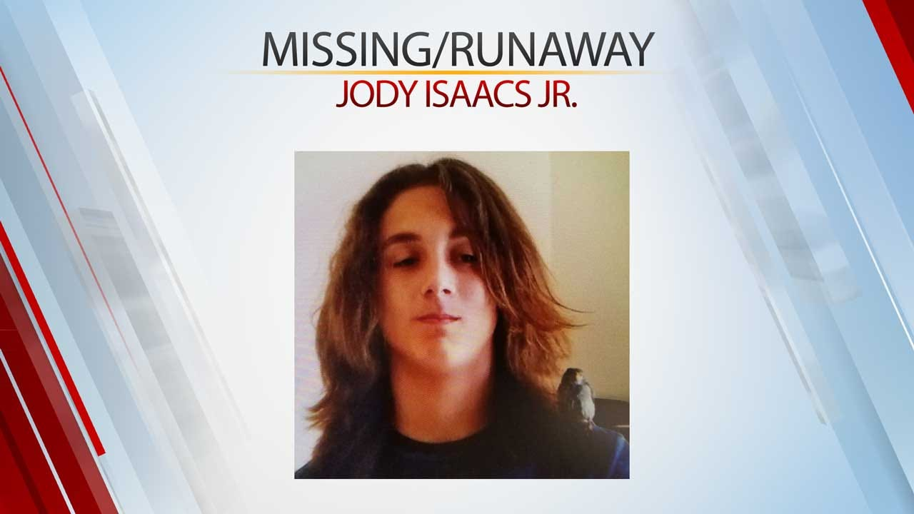 Anadarko PD Searching For Missing/Runaway Teen