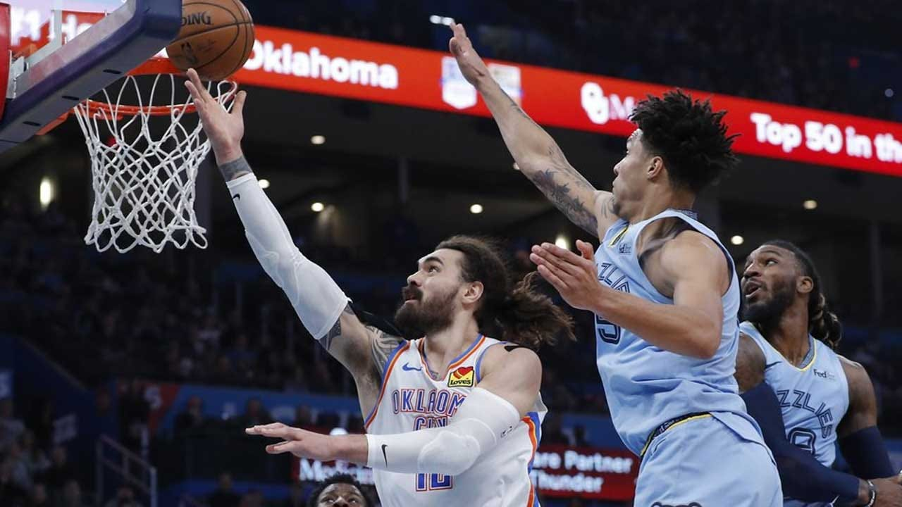 Grizzlies Hang Onto Lead This Time, Beat Thunder 110-97