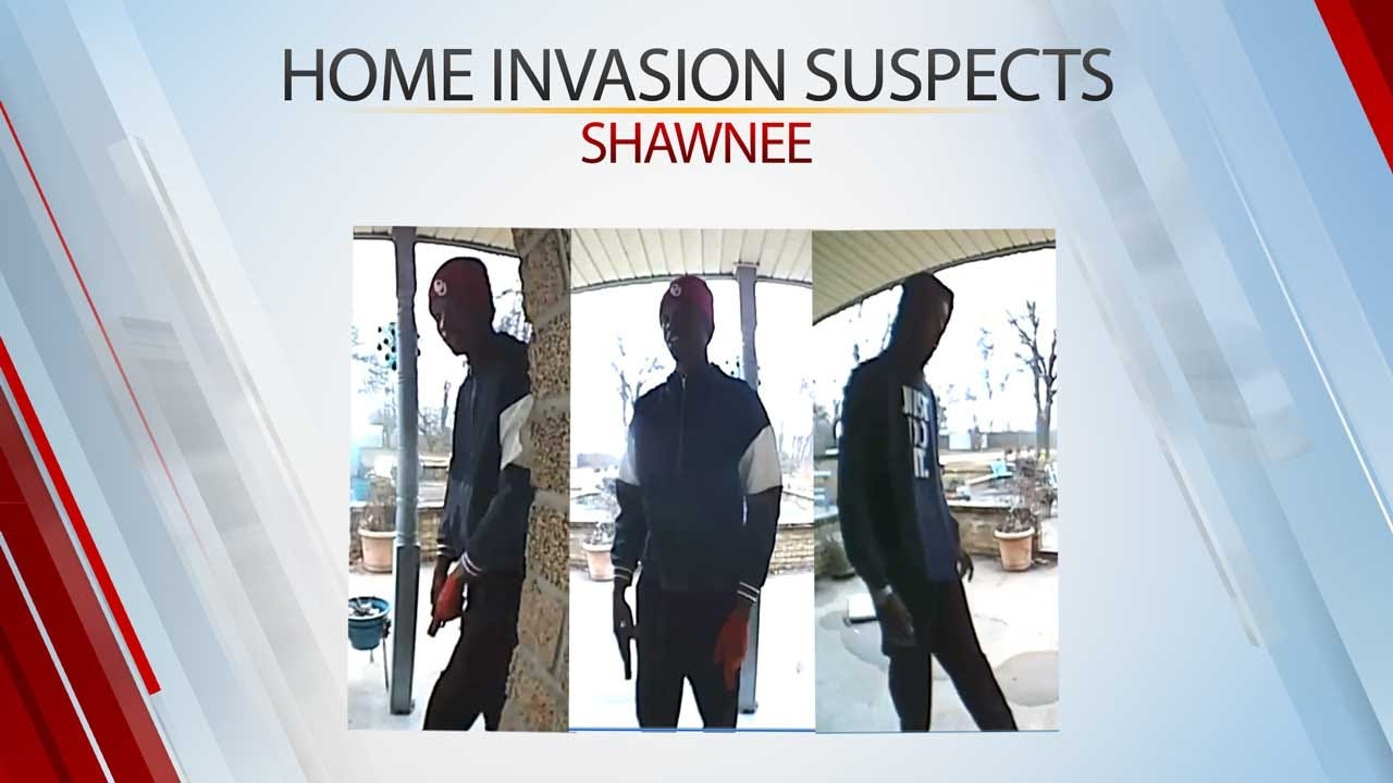Law Officers Looking For 3 Armed Burglars After Several Home Invasions In Shawnee