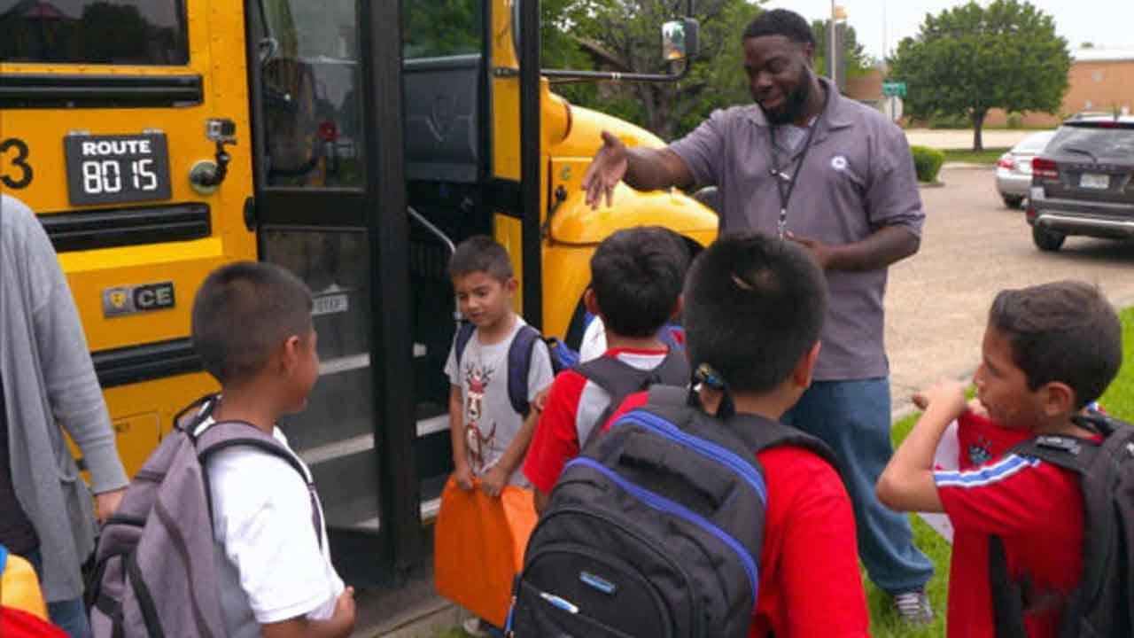 Texas School Surprises Bus Driver With New Car, Raise