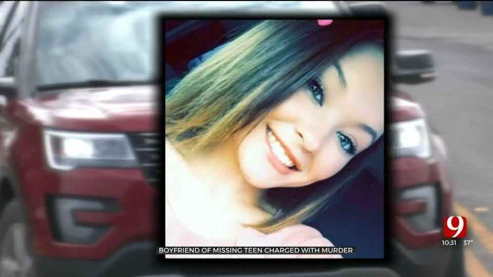 Murder Charge Filed Against Missing Pauls Valley Teen's Boyfriend