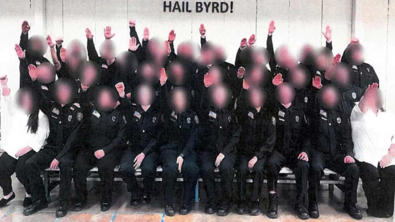 Governor Fires New Corrections Officers Over Gesture Resembling Nazi Salute In Class Photo