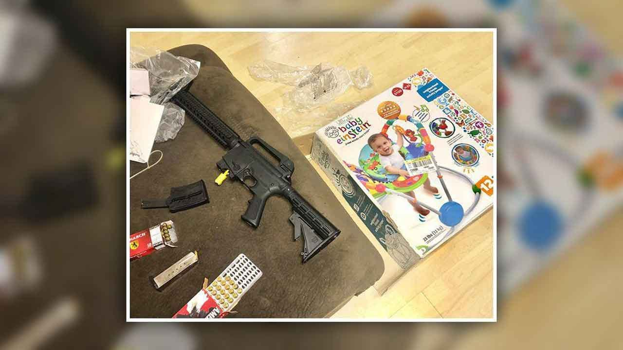 Loaded Gun Inside Baby Gift Bought At Florida Thrift Store