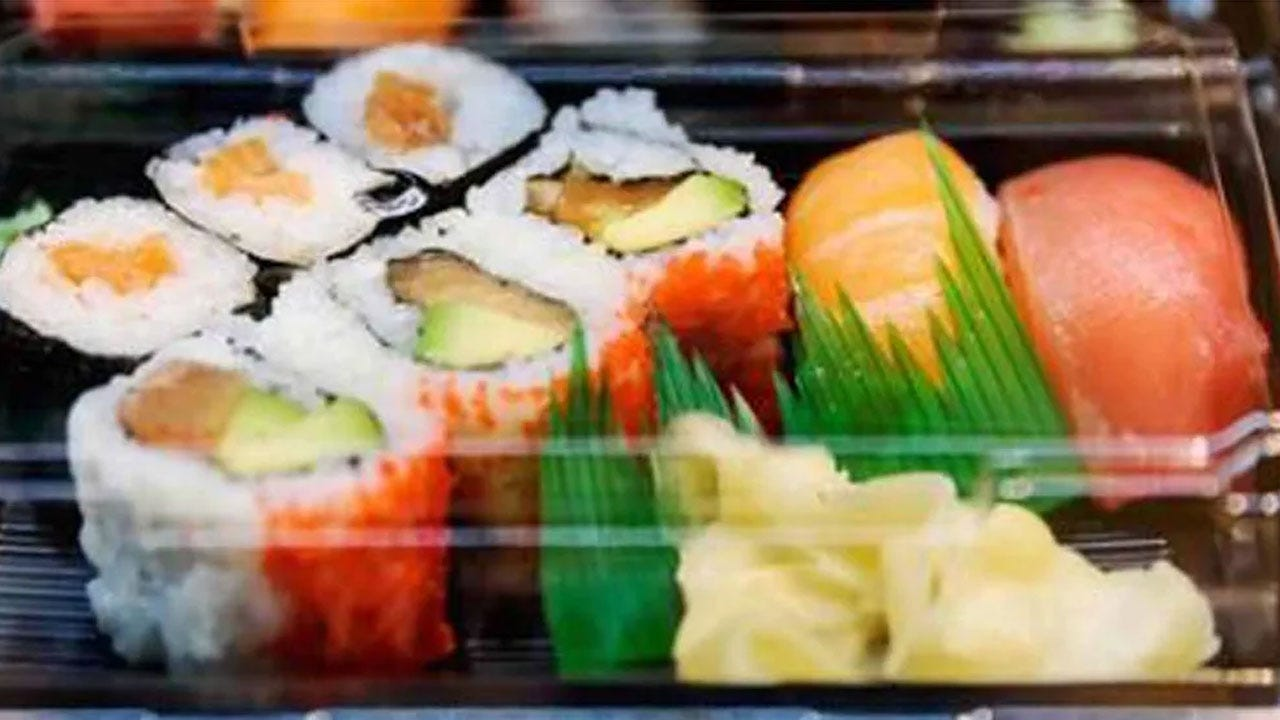Ready-To-Eat Sushi, Salads & Spring Rolls Recalled Over Listeria Fears