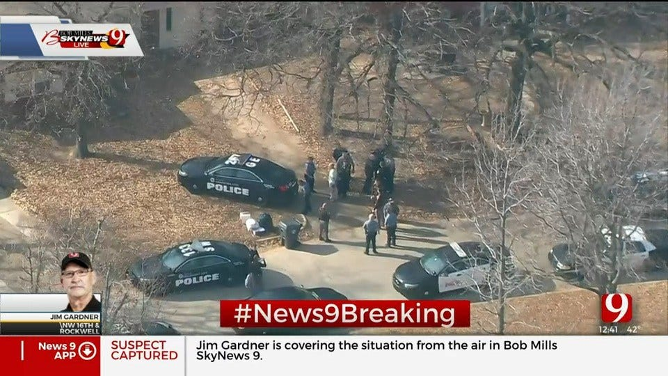 2 In Custody After A Trooper Vehicle Stolen, Recovered In NW OKC