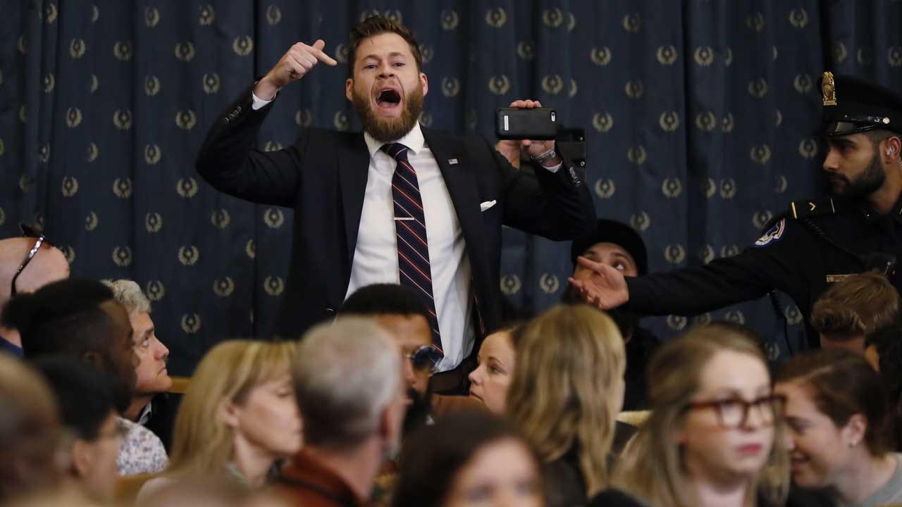 Infowars Host Interrupts Start Of House Impeachment Hearing