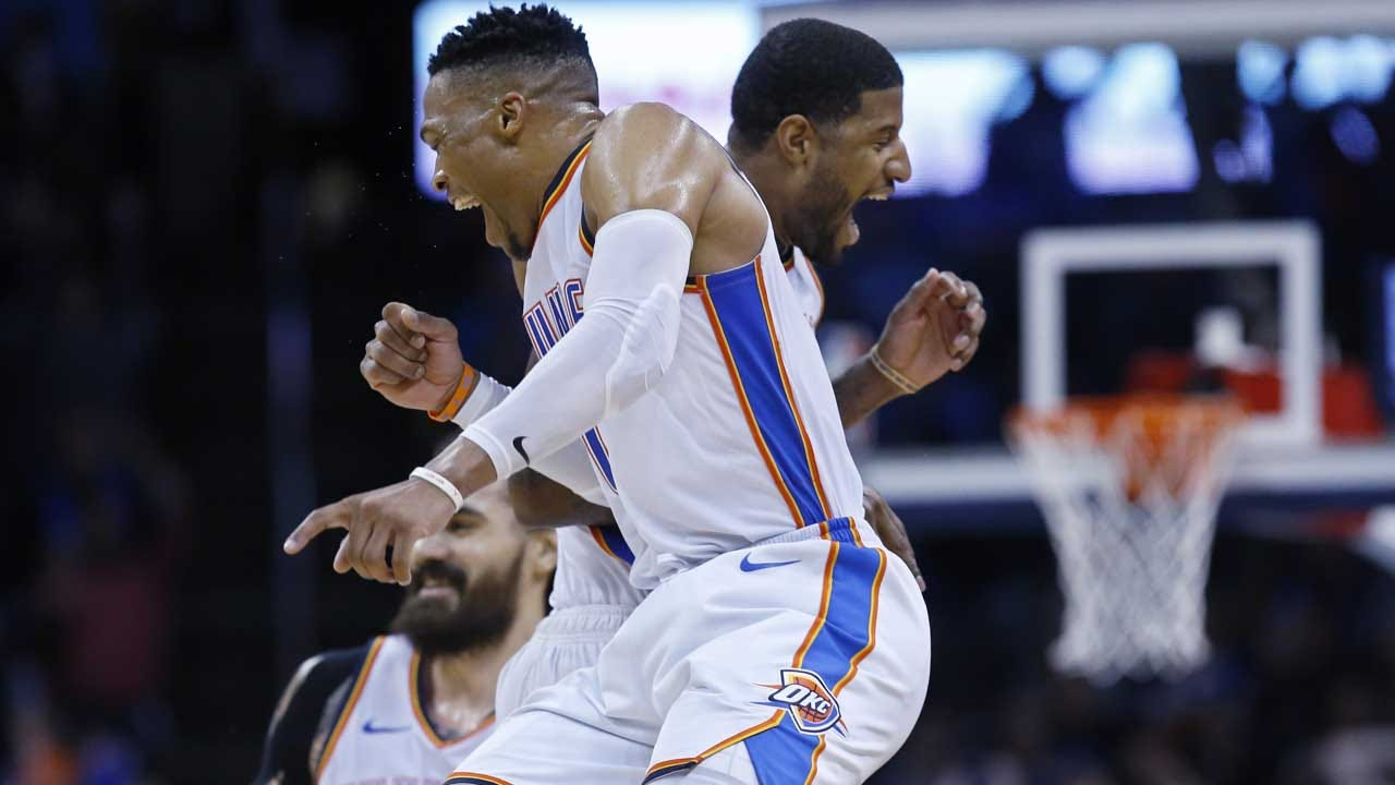 Westbrook Sets New Triple-Double Record In Thunder Win