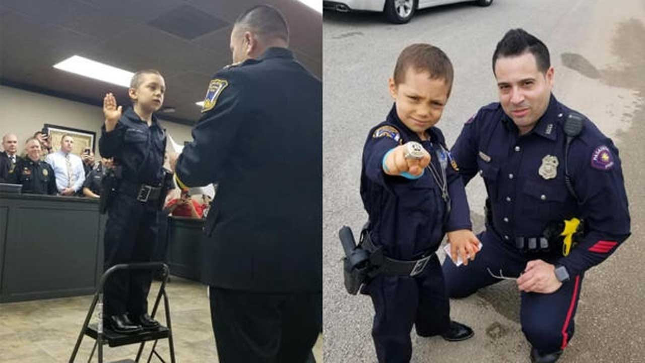 6-Year-Old Girl With Incurable Cancer Becomes Honorary Police Officer