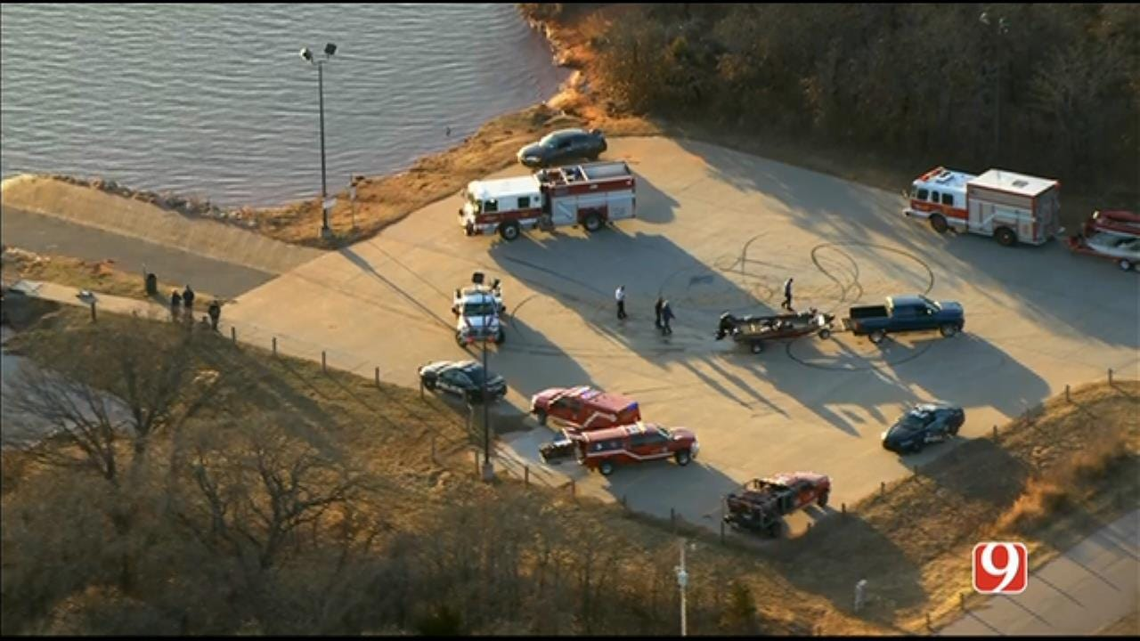 Dive Team Responds To Call At Lake Stanley Draper