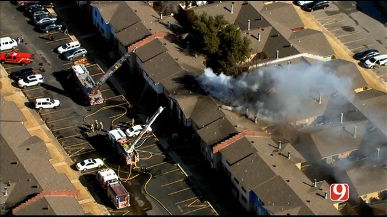 Fire Reported At NW OKC Condominiums