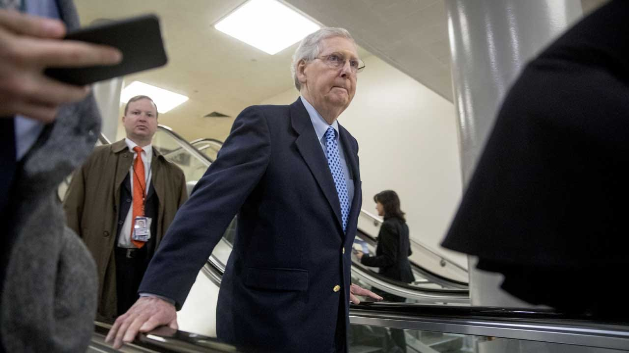 McConnell: 'No Haggling' Over Impeachment Trial Terms