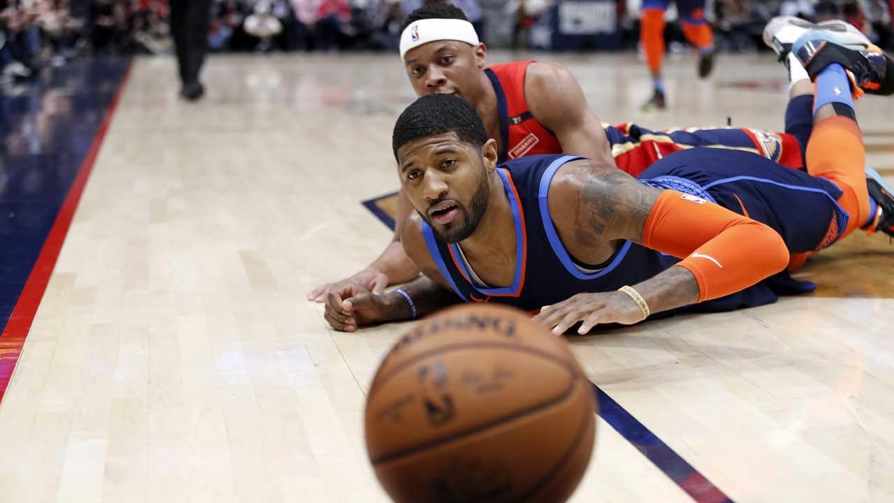 Pelicans Lose Davis, Beat Thunder 131-122