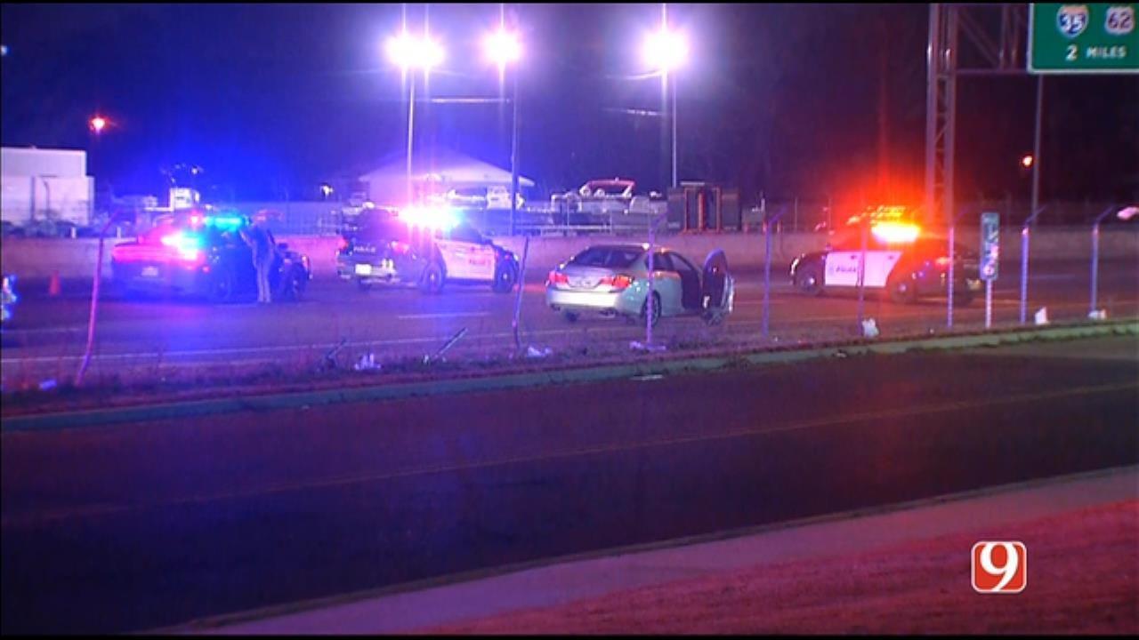 1 Killed In Auto-Pedestrian Crash On I-40 Near Del City