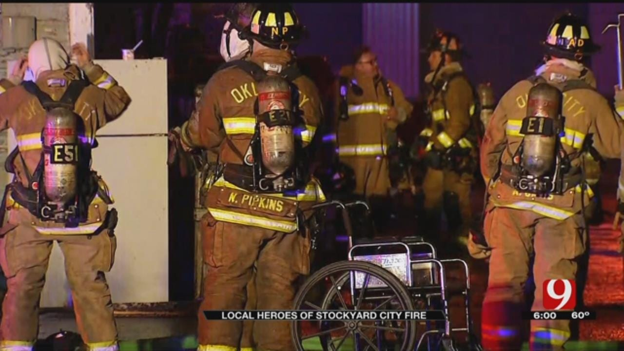 Good Samaritans Say They Helped Save Woman From OKC Fire
