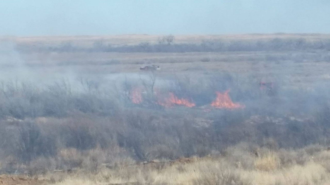 Large Beaver County Wildfire Contained By Firefighters