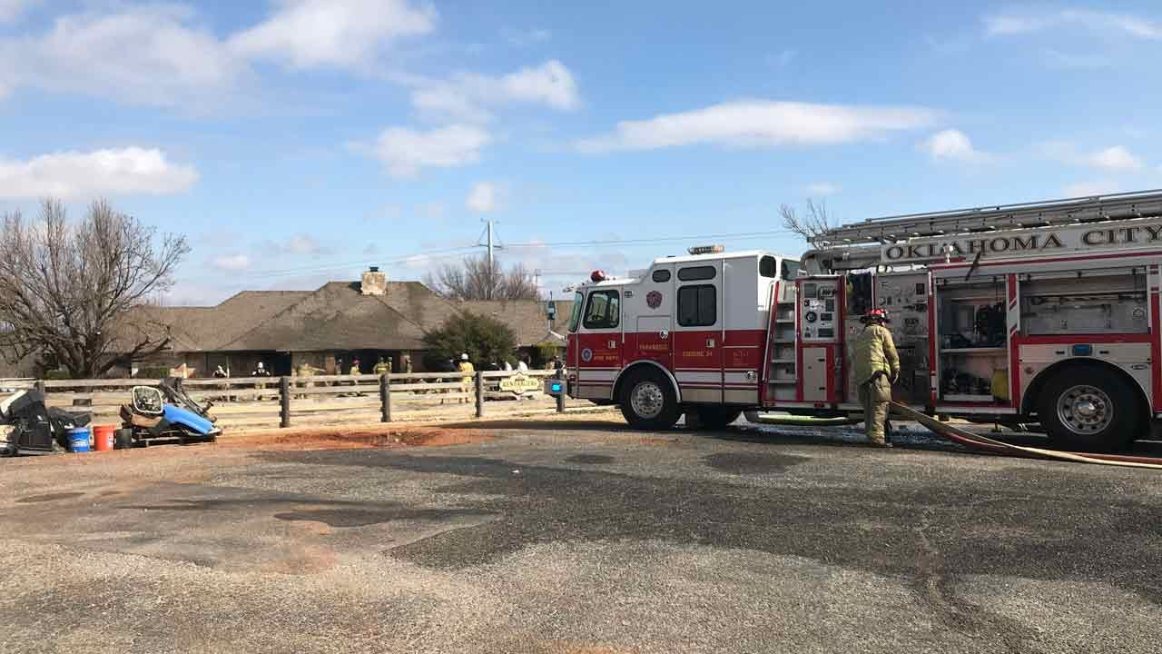 Man Killed In Northwest OKC House Fire, Firefighters Say