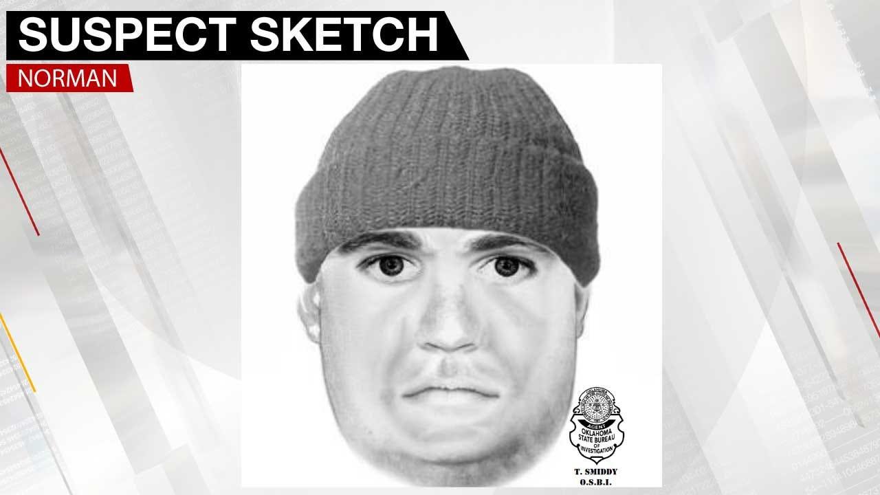 Norman Police Release Sketch Of Stalking, Burglary Suspect