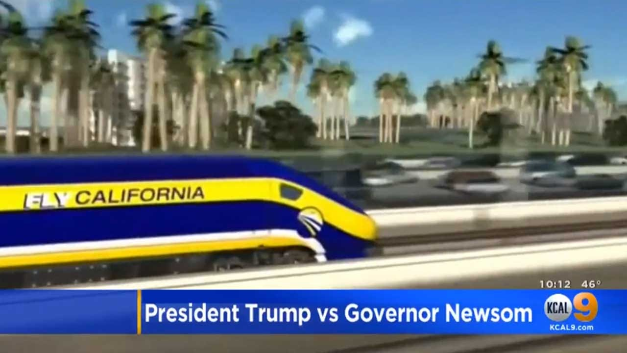 Trump Wants California To Pay Back Billions For High-Speed Rail
