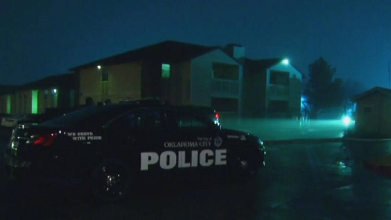 Police Investigating After Shooting At OKC Apartment Complex