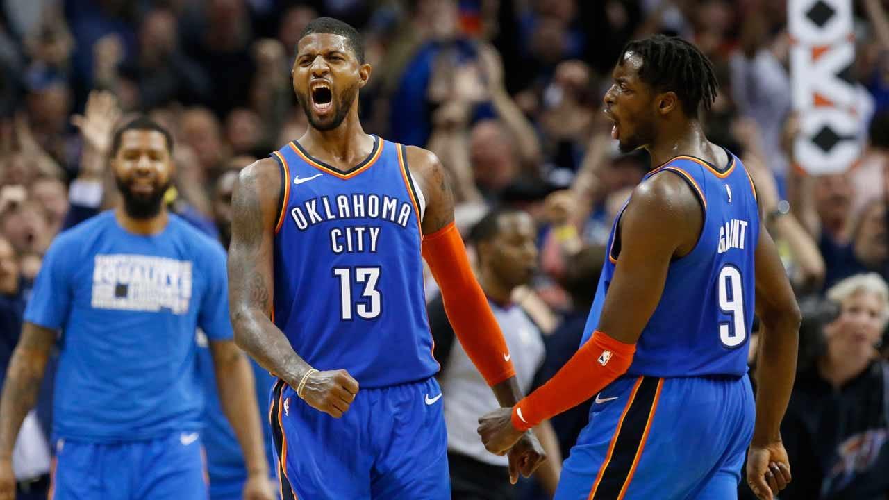 Thunder: Paul George Won't Play Versus 76ers