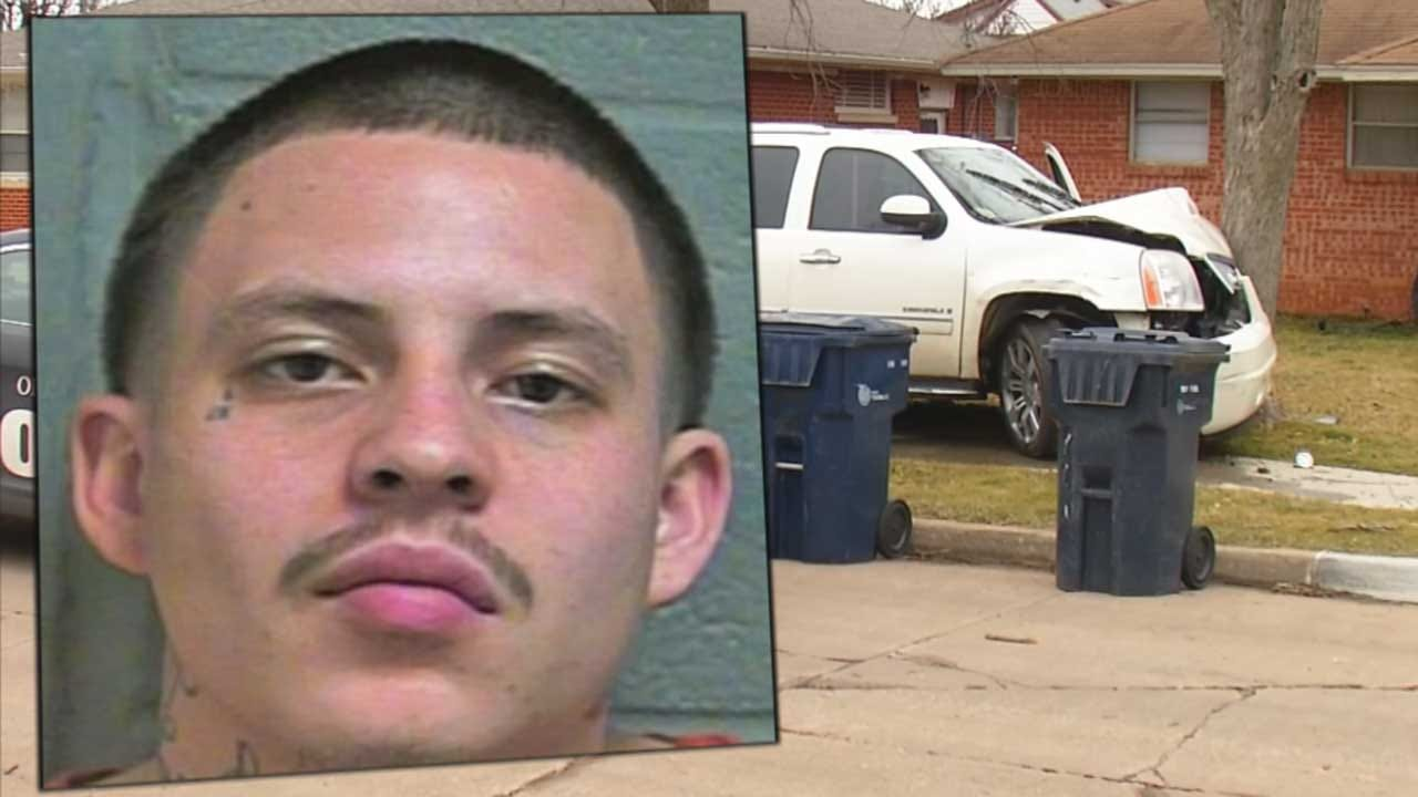 Man Faces Several Charges, Including Kidnapping After Chase Ends In S. OKC