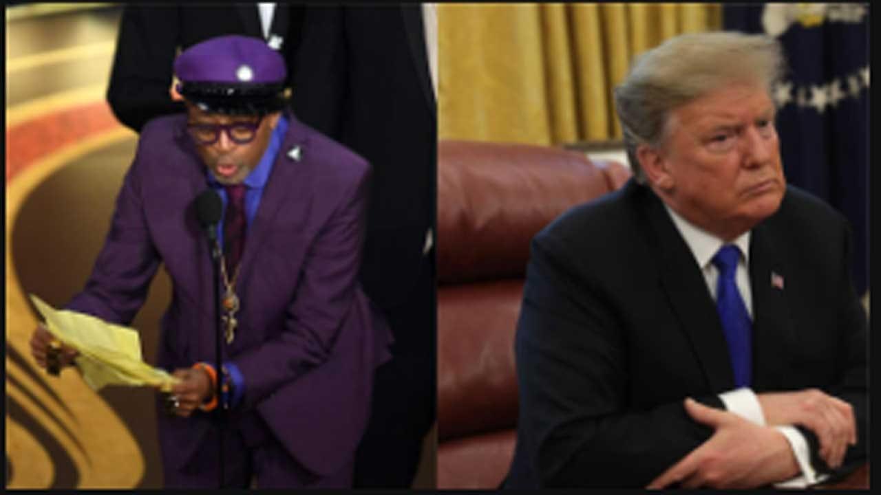 Trump Calls Spike Lee's Oscar Speech A 'Racist Hit On Your President'