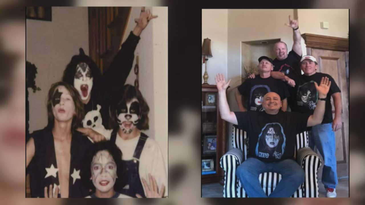 OKC KISS Concert Brings Friends Back Together After 41 Years