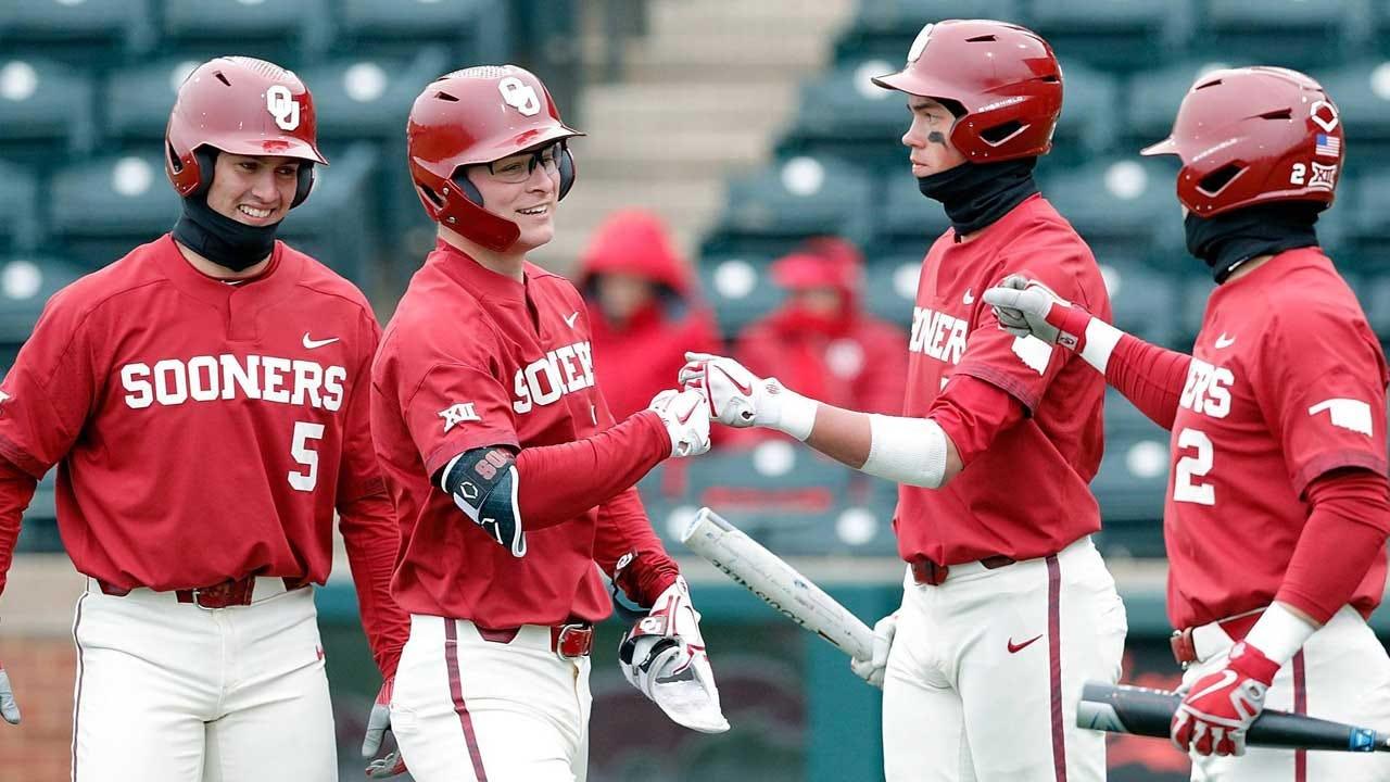 OU Baseball Shuts Out UAPB, 8-0