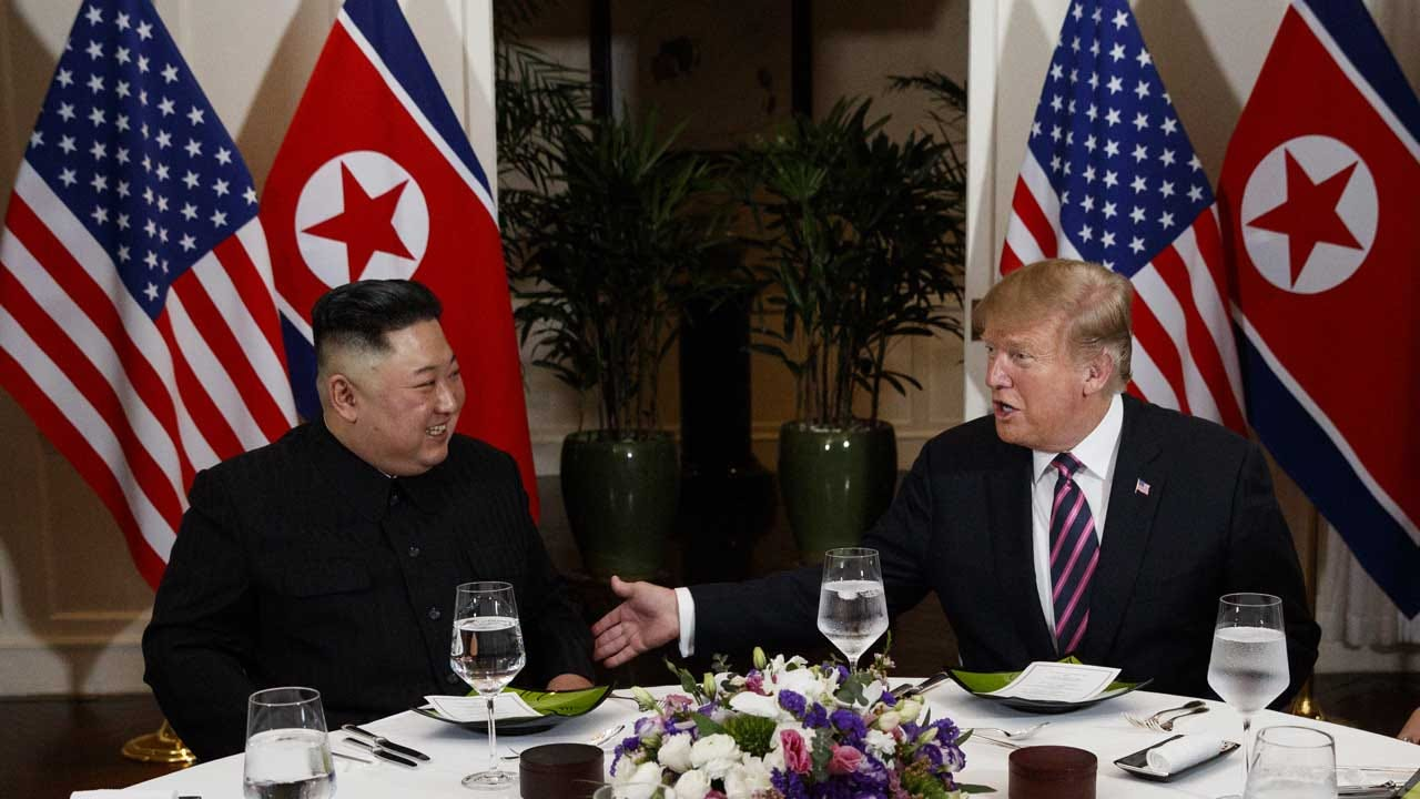 Some American Reporters Barred From Trump-Kim Dinner After Asking Questions