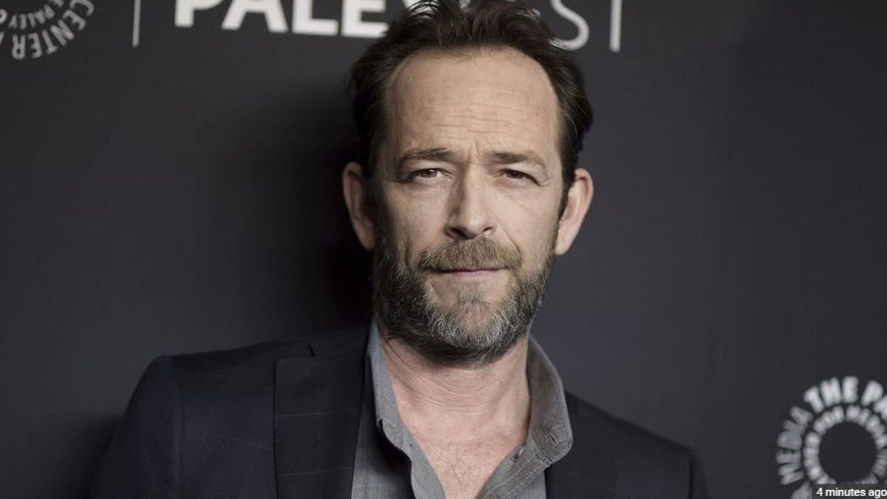 Luke Perry Hospitalized After Suffering Stroke