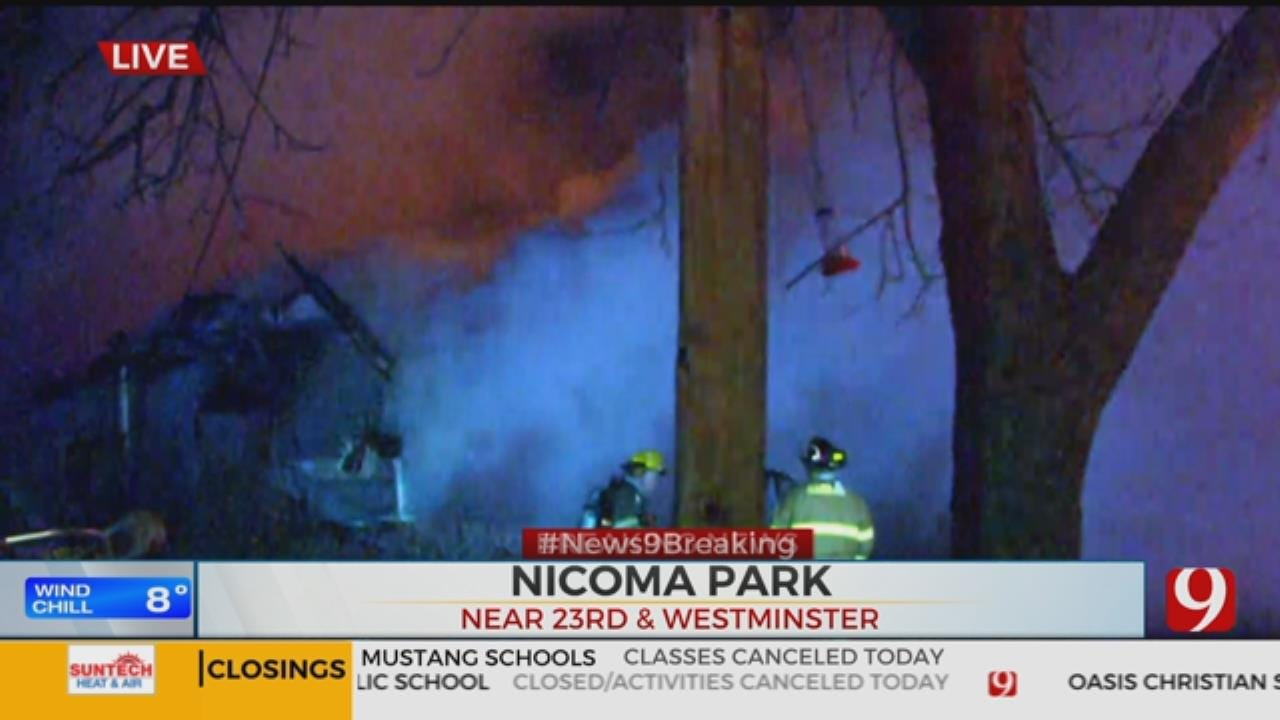 Nicoma Park Home Complete Loss Following Fire