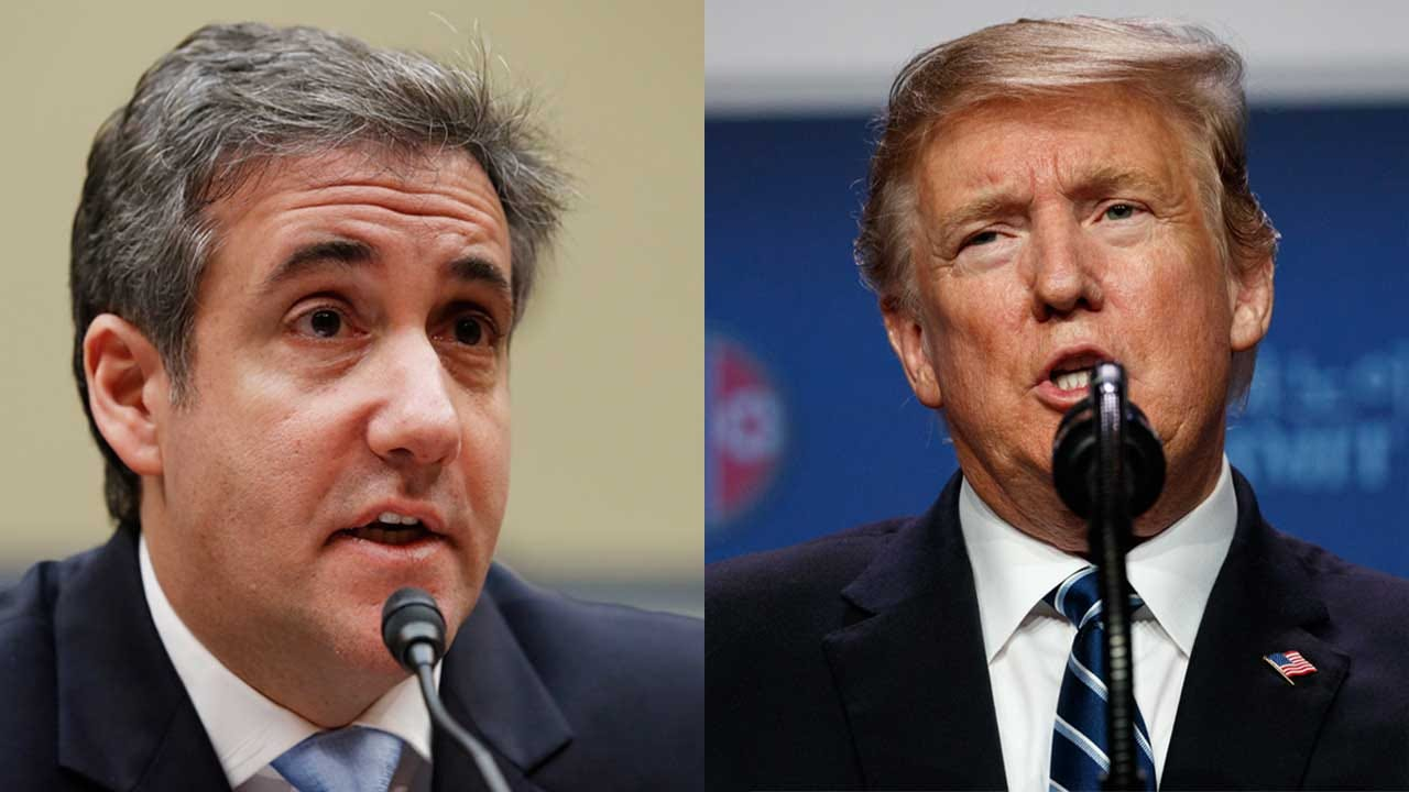 Trump: Cohen Lied 'A Lot' During His Testimony But Not When He Said 'No Collusion'