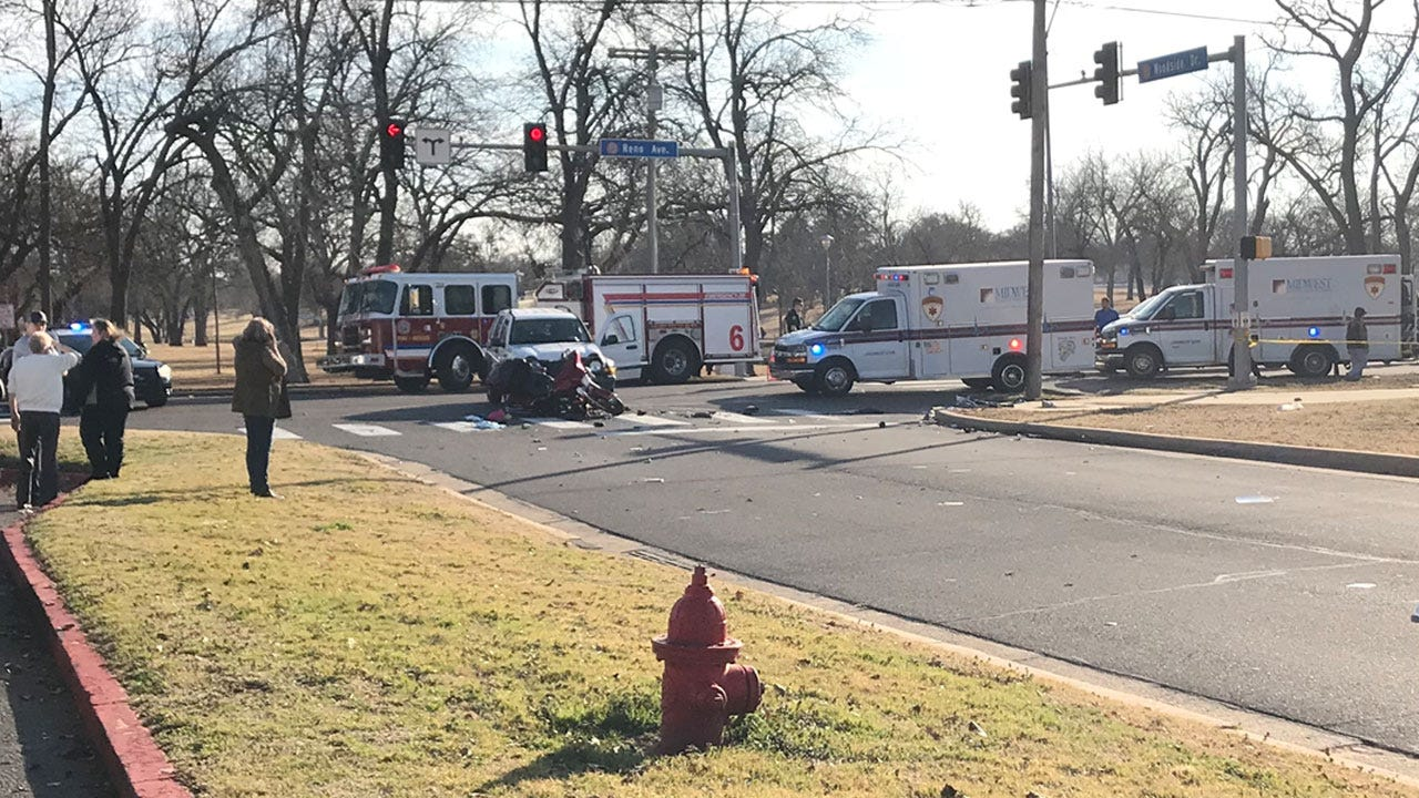 2 Injured In Crash Involving Motorcycle In MWC