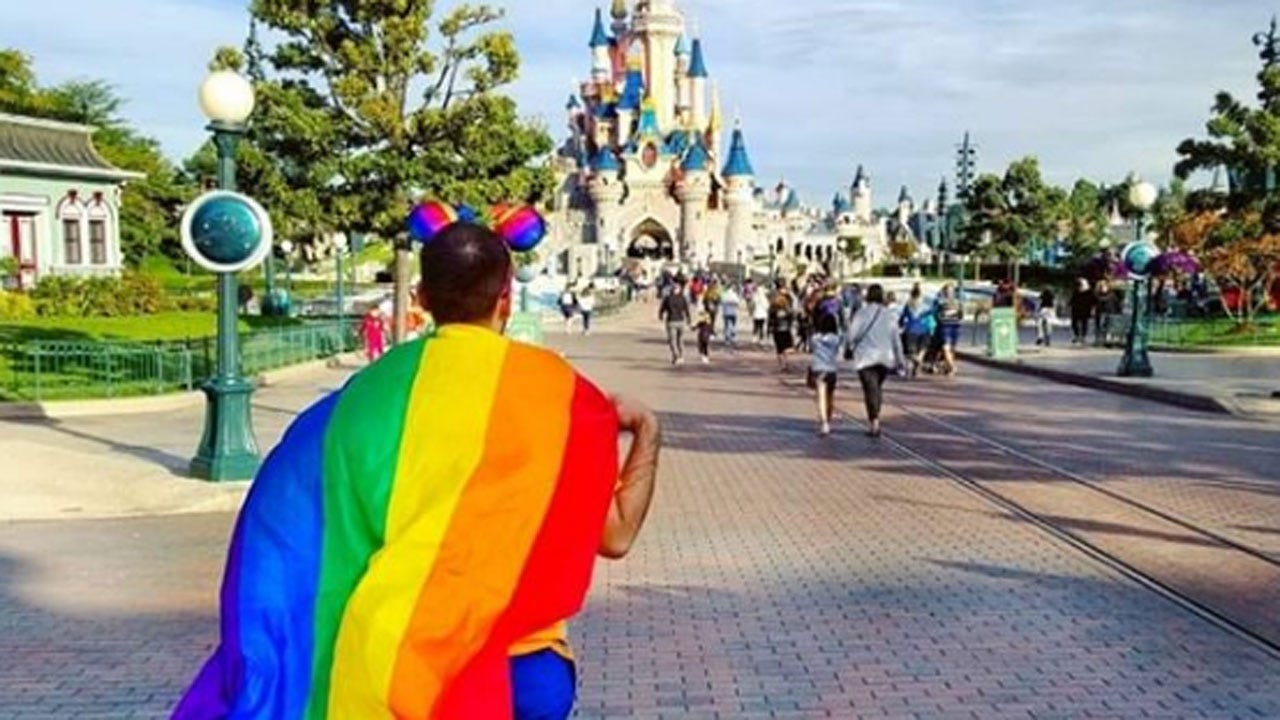 Disney To Host Its First Official LGBTQ Pride Event, 'Magical Pride'