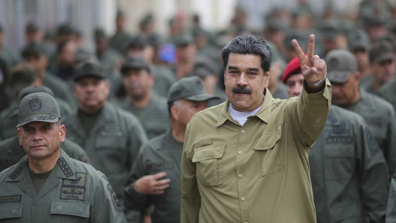 Venezuela's Defiant Maduro Warns Trump He'll Stain His 'Hands With Blood'
