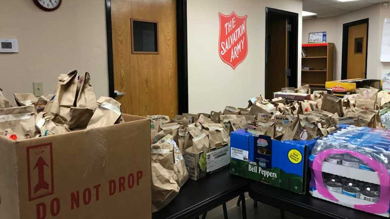 Girl Scout Troop Works To Help End Hunger In Cleveland County