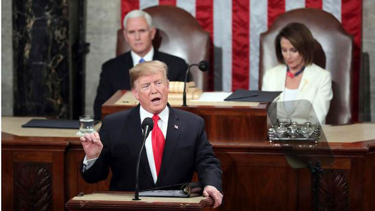 Most Viewers Approved Of Trump's Second State Of The Union Address