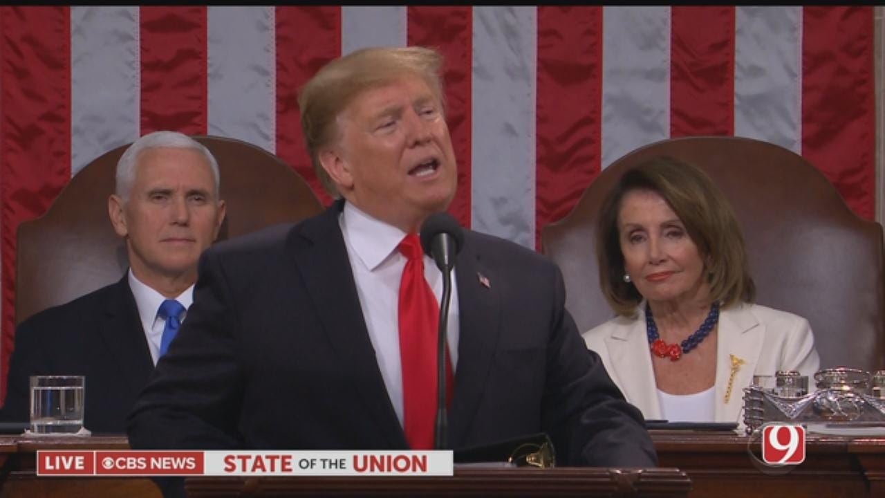 President Trump Delivers His State Of The Union Address