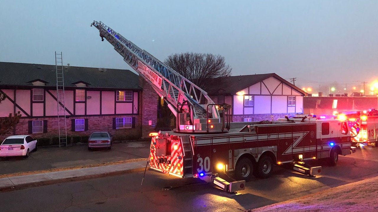 Crews Respond To NW OKC Commercial Fire